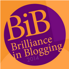 Brilliance In Blogging Award 2014 BiBs 2014 - Taken from a post by DannyUK.com