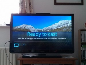 Google Chromecast – Ready to cast