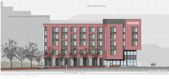 New Premier Inn plans for Victoria Road Chelmsford. Taken from Chelmsford.gov.uk