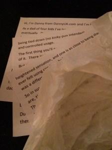 Silent Sunday and My Sunday Photo- Week 13 – Script