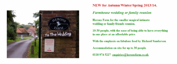 The Barns at Heron Farm website
