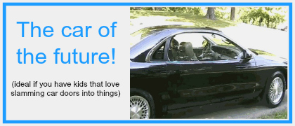 The car of the future? This gif is brilliant!