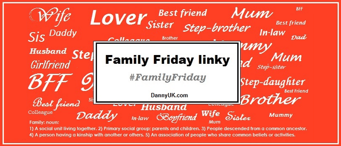 Family Friday link – May – Week 2