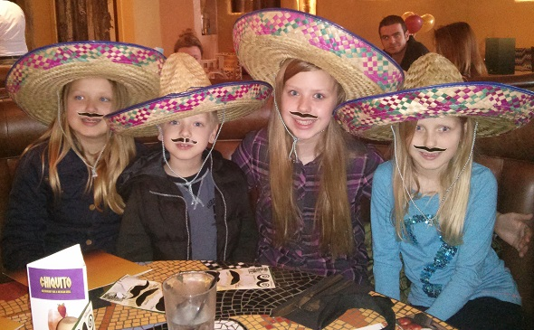 My Sunday Photo - The four amigos - taken from an article by DannyUK.com