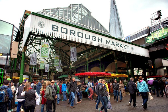 Borough Market and The Shard - What to do in London