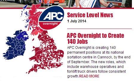 APC's overnight service level