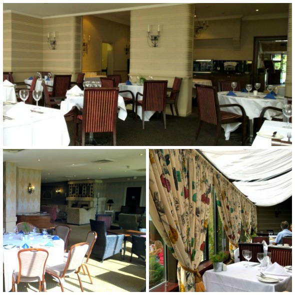 Brook Mollington Banastra Hotel & Spa afternoon tea - inside collage