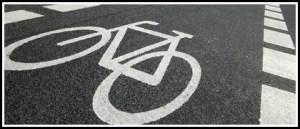 Cycle path header