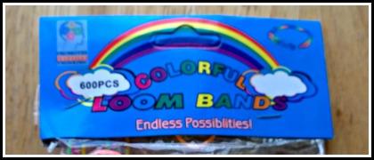 Win loom bands! (300 multi-coloured)