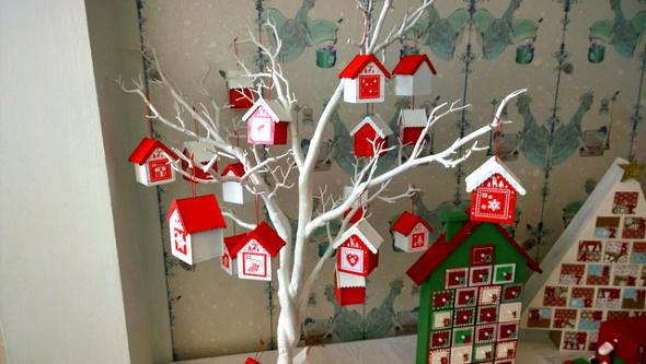 Hobbycraft Christmas 3D advent calendar - taken from an article by DannyUK.com