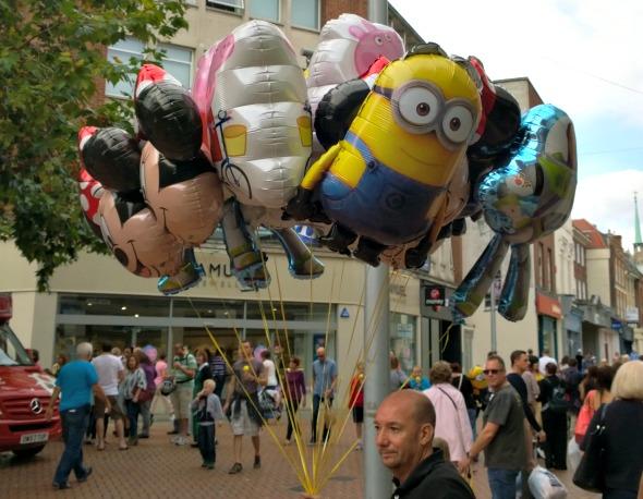 My Sunday Photo - Balloons amongst the madness