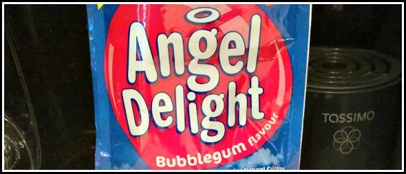 Bubblegum flavour Angel Delight?!