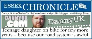 DannyUK Essex Chronicle header Chelmsford roads