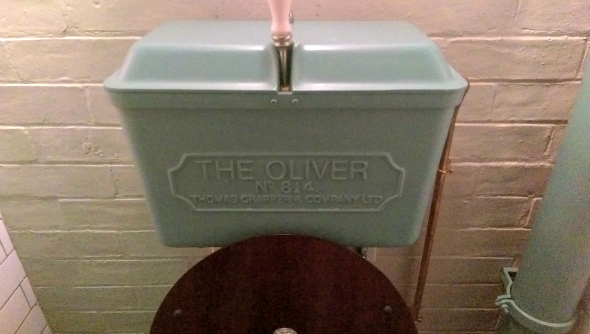 Jamies Italian Chelmsford - Jamie Oliver toilet - Taken from a review on DannyUK.com