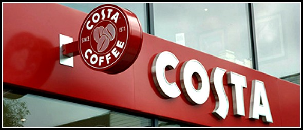 Living with a Costa Coffee addiction
