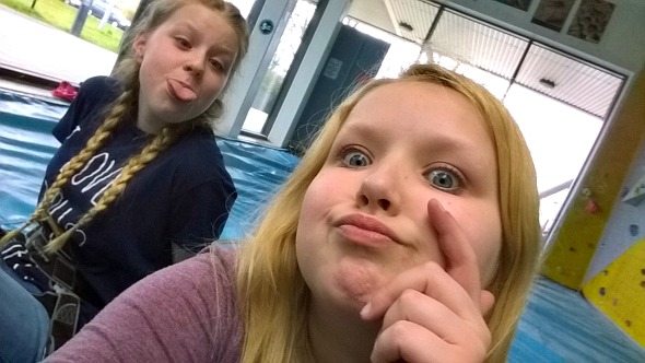 High Sports Basildon - Eldest two take a selfie break