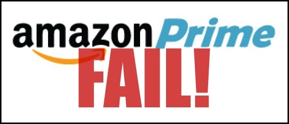Amazon Prime failed delivery