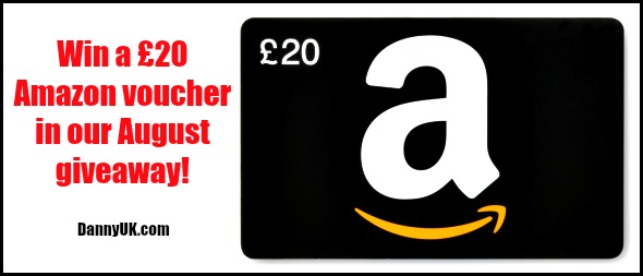 Win an Amazon voucher worth £20 in our August giveaway