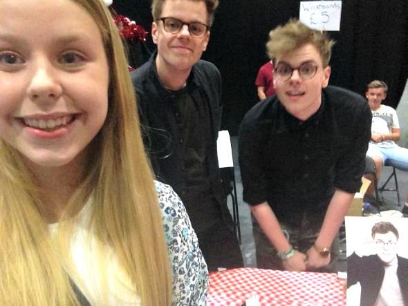 Charisma and Niki and Sammy #SitC2015