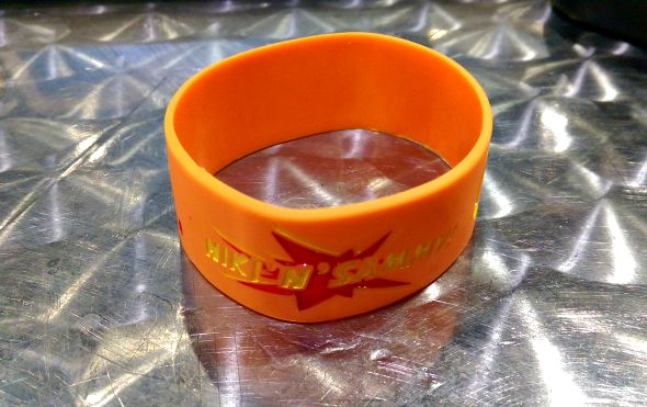 Niki and Sammy wristband #sitc2015