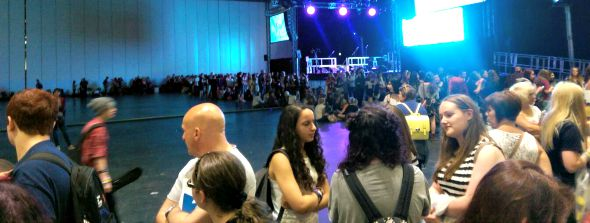 #SITC2015 Meet and Greet queue