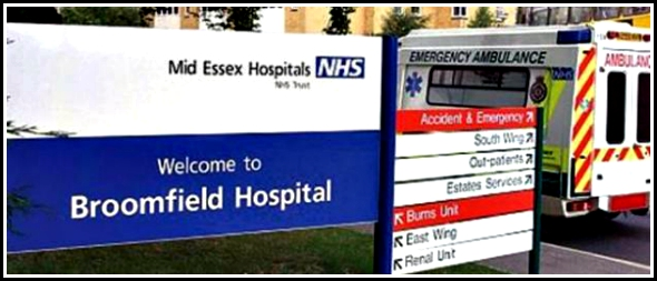 My OAP mum gets rushed to Broomfield hospital