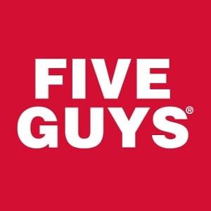 Five Guys logo – square