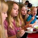 My Sunday Photo – Four kids, one salad