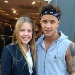 My Sunday Photo – Sam Callahan meets my daughter