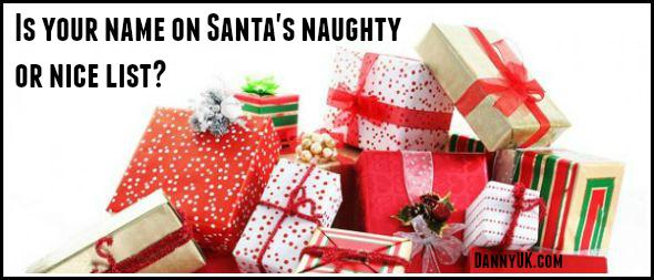 Naughty and Nice list revealed – Where has Santa put YOU?