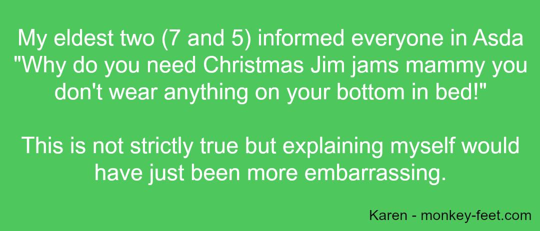Embarrassing Kids - Karen