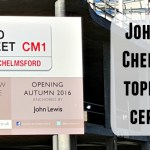 John Lewis Chelmsford Topping Out ceremony at Bond Street Chelmsford