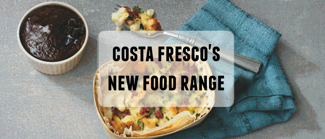 Costa Fresco's new food range featuring Charlie Bigham's and Cartmel