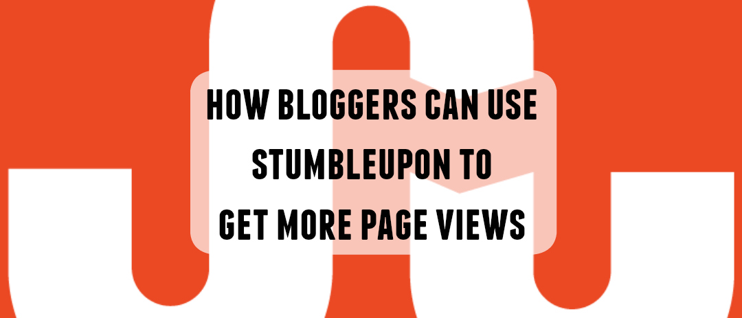 How to use StumbleUpon to get more page views
