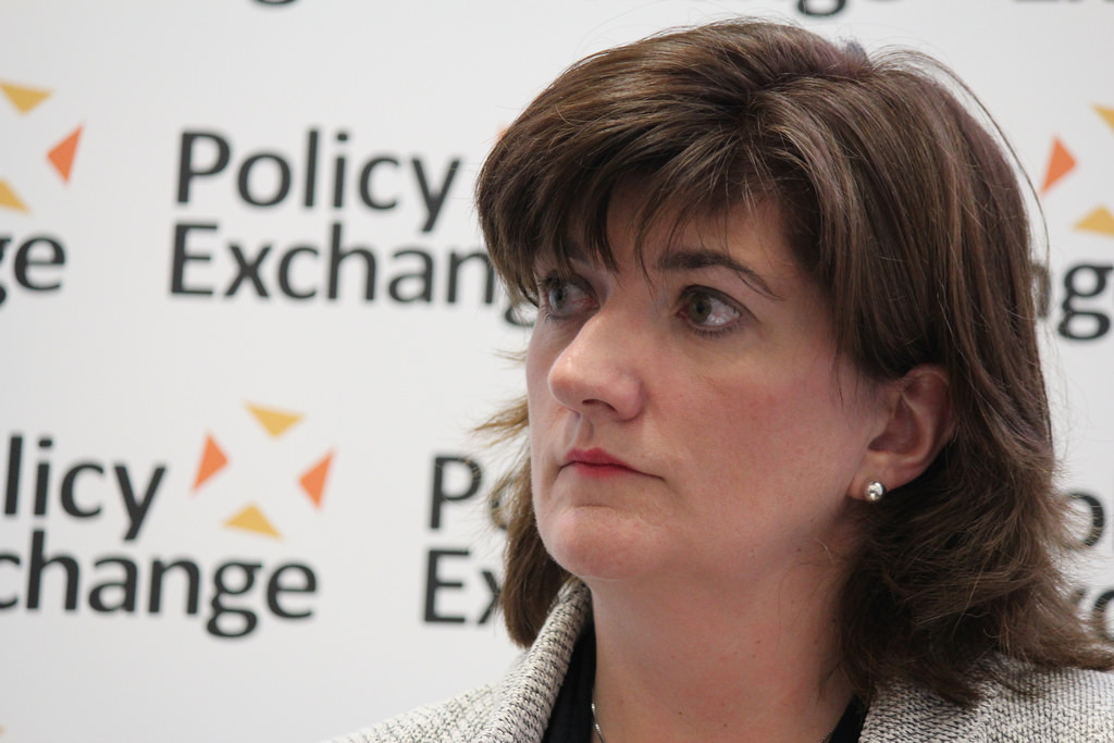 Nicky Morgan Education Secretary - Secretary of state for education