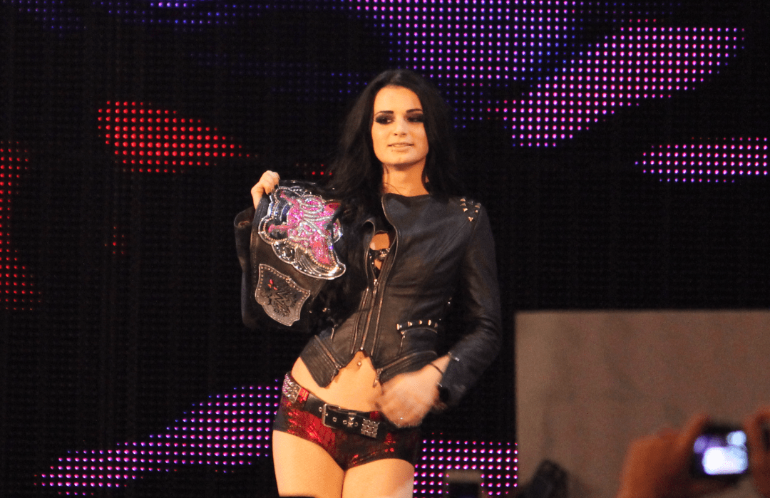 WWE's womens champion Paige - Taken from Flickr user ohhsnap_me with thanks