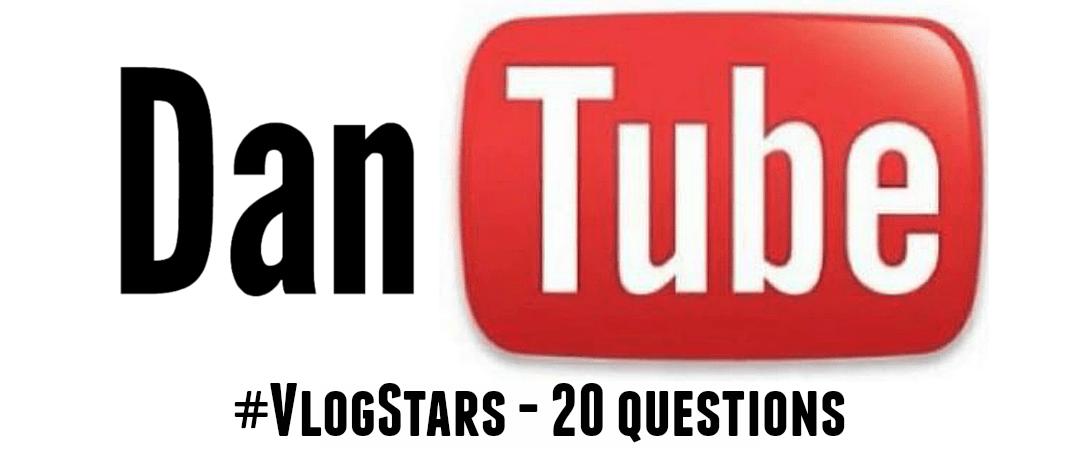 lackadaisical Vlog Stars - 20 questions header #VlogStars