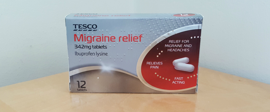 Migralieve tablets for migraines