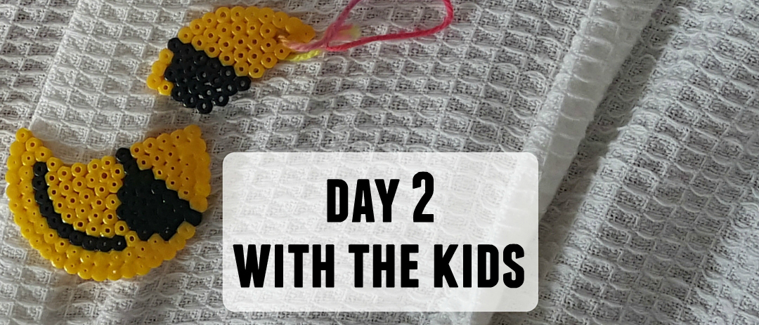 Day 2 of having the kids: Brexit, buoyant poo and more