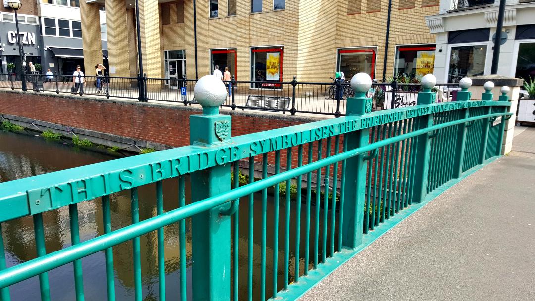 Friendship Bridge in Chelmsford