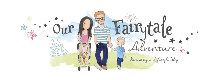 Our Fairytale Adventure blog header - Parenting blog and lifestyle blog
