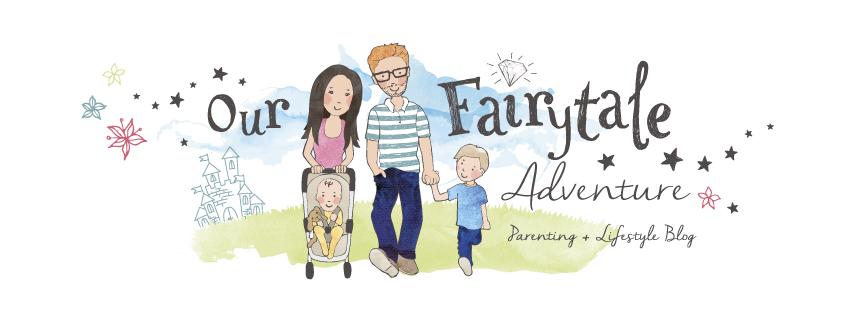 Our Fairytale Adventure blog header - Parenting blog and lifestyle blog