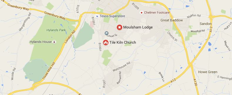 Tile Kiln and Moulsham Lodge