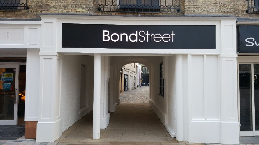 Bond Street, Chelsmford - High Street entrance