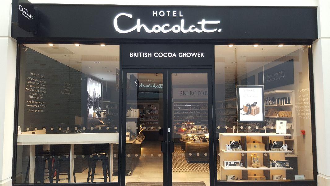 Hotel Chocolat in Bond Street, Chelmsford