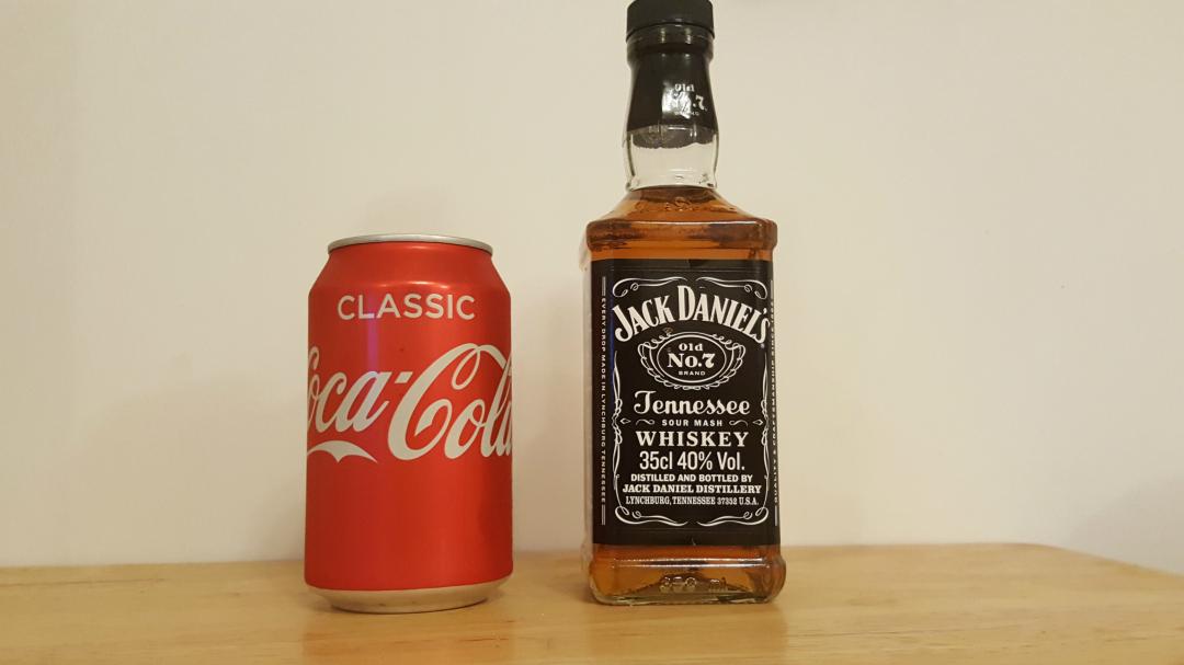 My Sunday Photo - JD and Coke