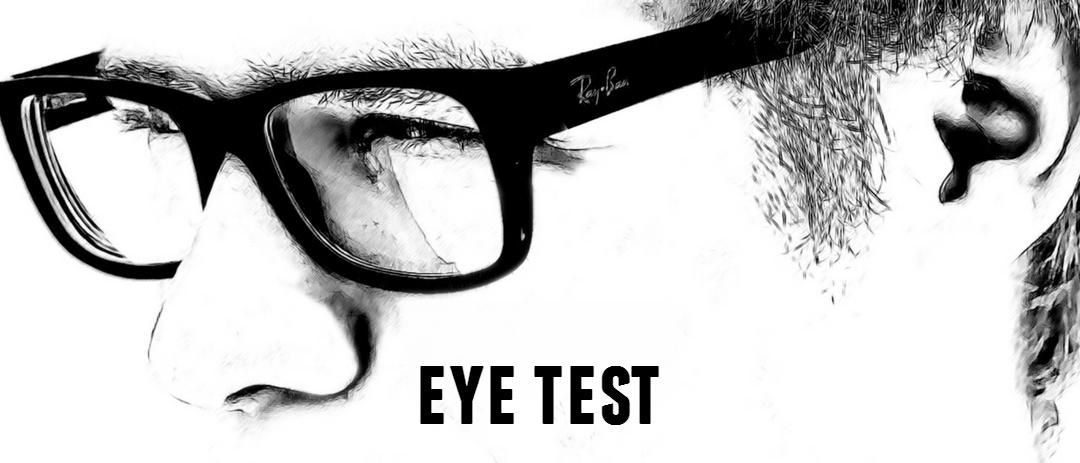 Dan has an eye test
