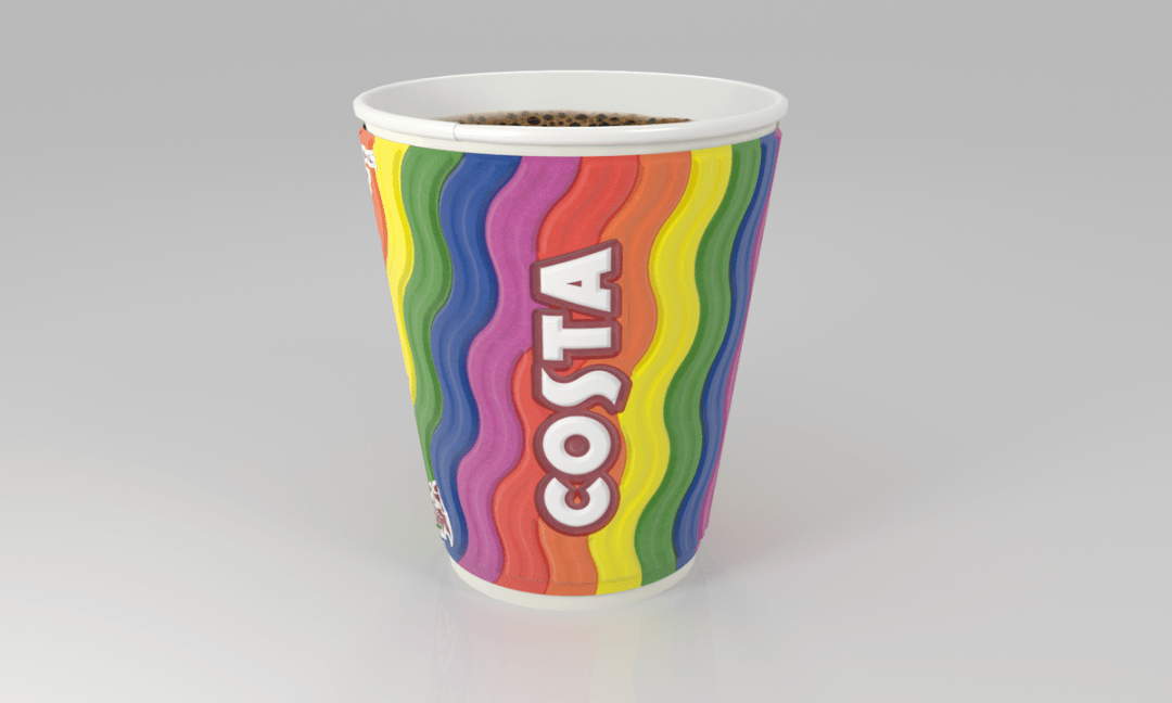 Costa celebrates Pride 2018 and Costa's number 1 fan is ecstatic!