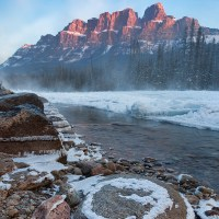 Castle Mountain and Morant's Curve