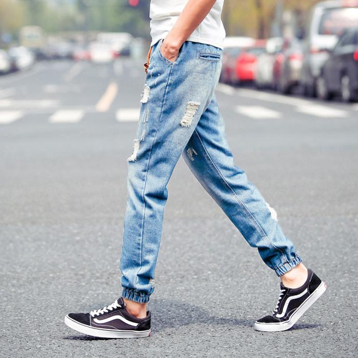 chọn quần jean thời trang nam hè - 9